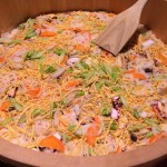 foods of halal ramen party