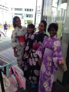 Malaysian students enjoyed in Japan