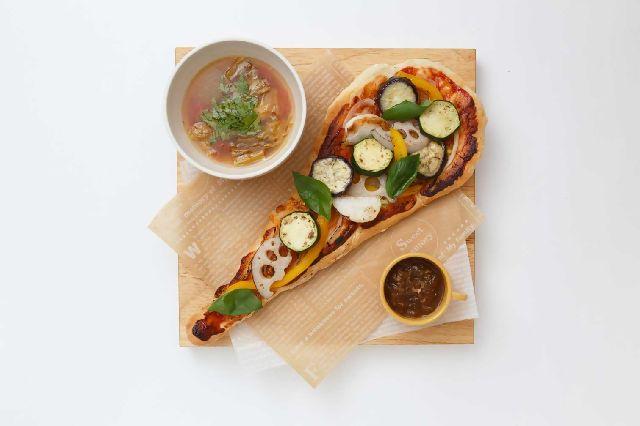 SEKAI CAFE's pizza