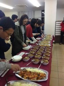 Halal Food Buffet Menu