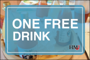 ONE FREE DRINK COUPON