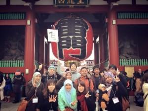 Walk around tour in Asakusa for Muslim