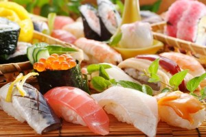 High quality nigiri-sushi