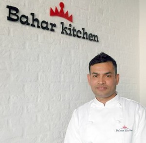 Executive chef Berar Hussein Bahar