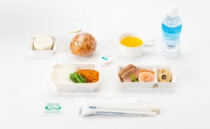 halal foods in international flights