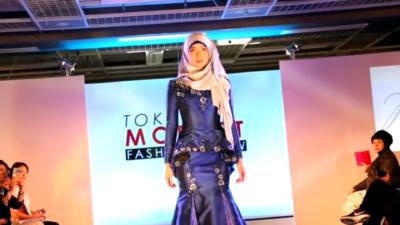 First Muslim Fashion Show in Tokyo, Japan