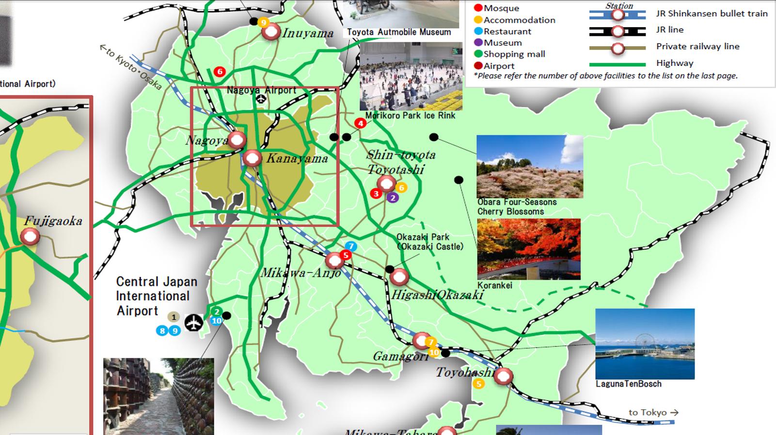 Aichi Prefecture, where Nagoya is located, made a Muslim-friendly ...
