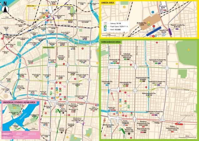 OSAKA MAP FOR MUSLIMS has been finally released! Enjoy Osaka Castle and Dotonbori!