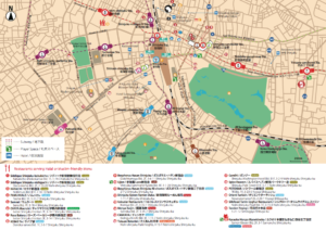 SHINJUKU MAP FOR MUSLIMS has been entirely updated Enjoy Godzilla