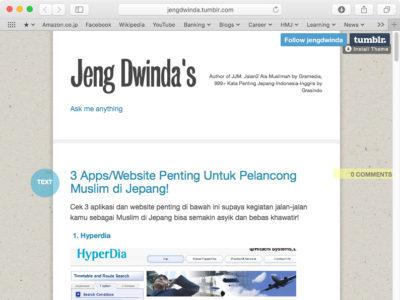 Jeng Dwinda's