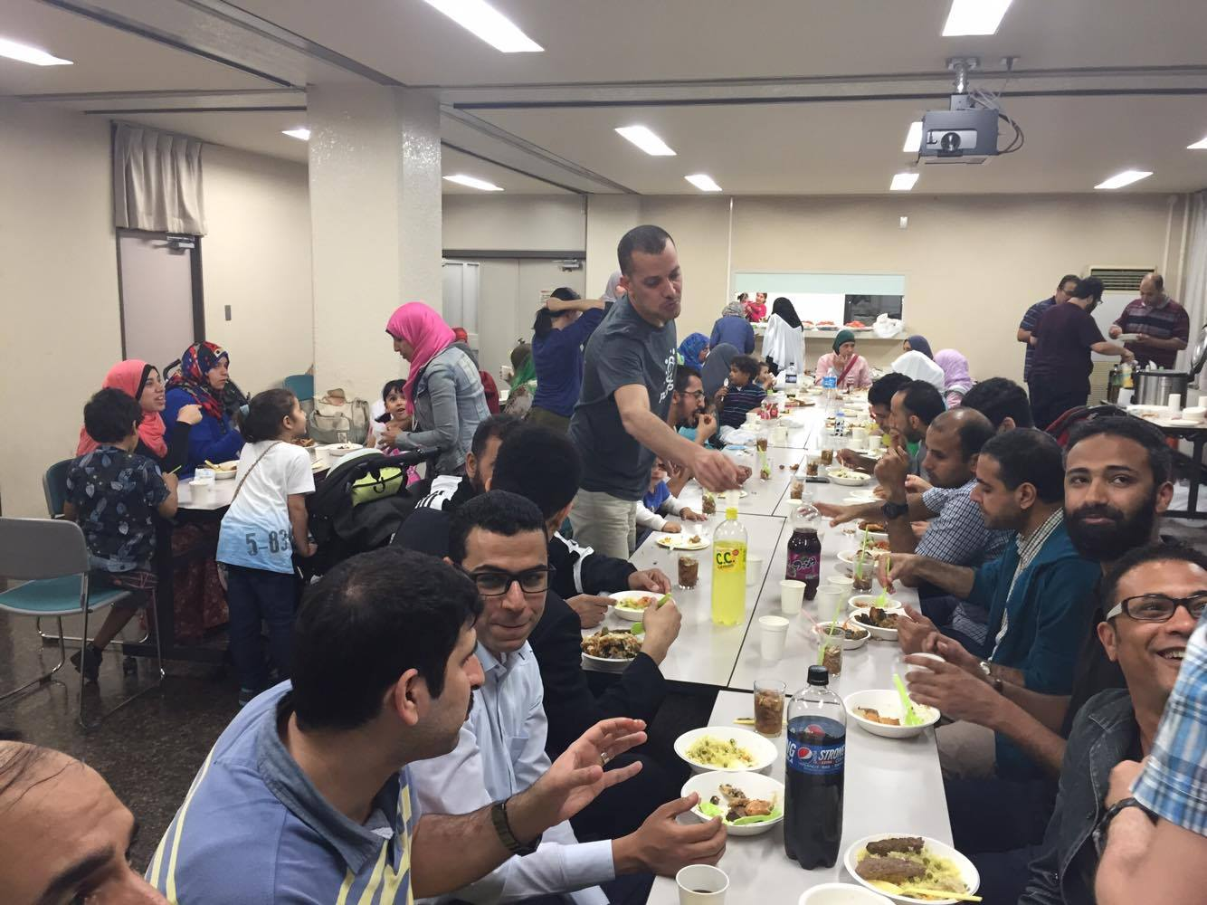 Iftar party in Japan