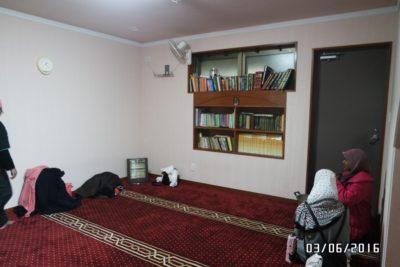 Woman praying area