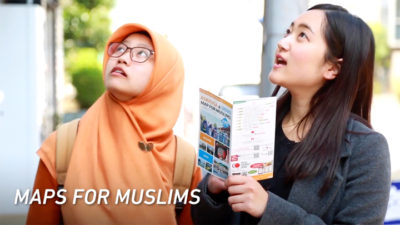Halal Media Japan's TV commercial