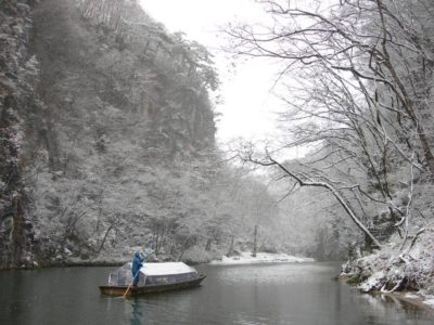 Geibikei River in Ichinoseki City, Iwate Prefecture