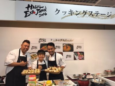 Live Cooking Report & Recipe of Halal Expo Japan 2016