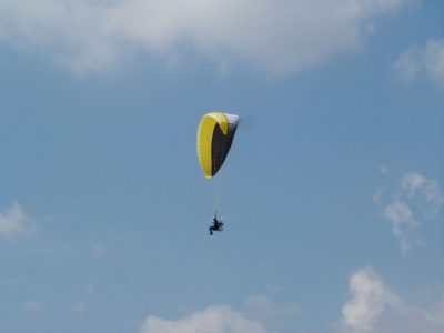 Paragliding Experience in Skygym Sano