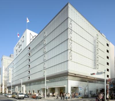 Located on 8th floor in Ginza Matsuya