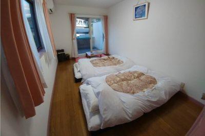 ツインルームの客室