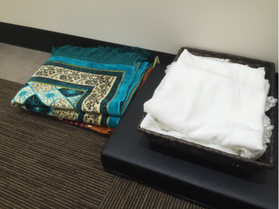 mat and cloth