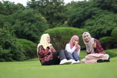 muslima_at_gyoen
