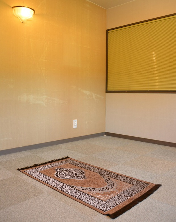 prayer room mat