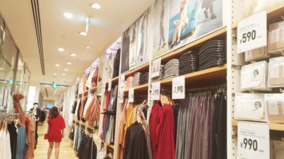 Not only muslim, non-muslim customer also come to Uniqlo x Hana Tajima collection corner