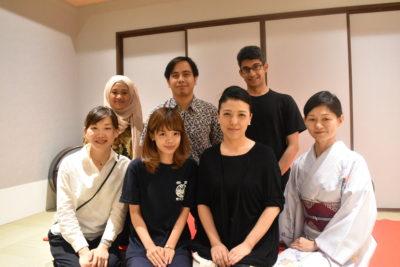 ムスリムレポーターとわぷらす奈良のスタッフの皆様