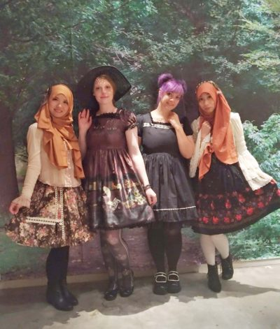 Muslim Lolita and Lolita from Germany