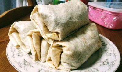 Halal Taco Wrap