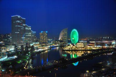 横浜・みなとみらいの夜景