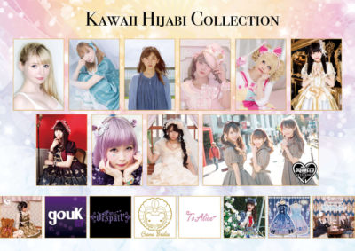 Kawai Hijabi Collectionモデルの皆さん