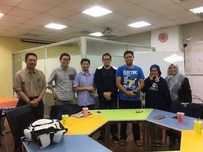 Halal Taiwanの開発チームとの打ち合わせの様子
