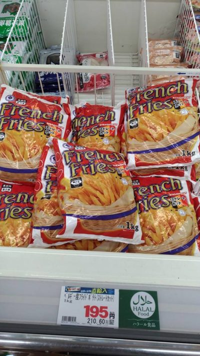 Halal french fries