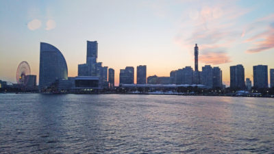 The scenic Yokohama